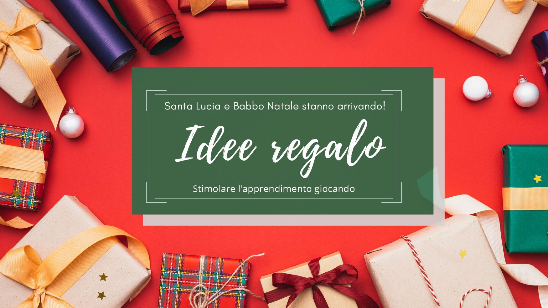 Natale è alle porte: idee regalo per giocare con la testa!
